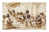 Christ Preaching in the Temple Fine Art Print