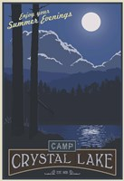Camp Crystal Lake Fine Art Print