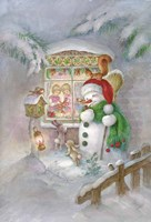 Christmas Friends Fine Art Print