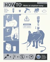 How To Build An Elephant Lamp by Steve Thomas - various sizes