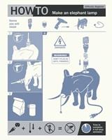 How To Build An Elephant Lamp Fine Art Print