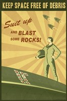 Blast Some Rocks by Steve Thomas - various sizes