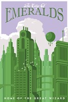 Emerald City Travel Fine Art Print