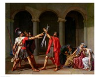 The Oath of Horatii Fine Art Print