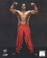The Great Khali 2013 Posed Fine Art Print