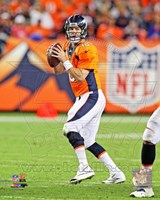 Peyton Manning Football Passing Fine Art Print