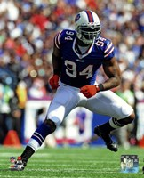 Mario Williams 2013 in action Fine Art Print
