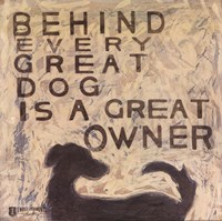 Great Dog Fine Art Print