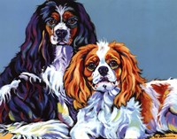 Bella & Bentley Fine Art Print