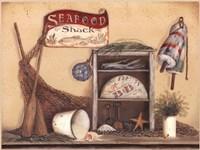Seafood Shack Fine Art Print