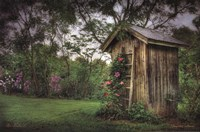 Fragrant Outhouse Fine Art Print