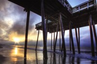 Sunrise at the Pier Fine Art Print