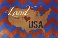 Land that I Love Fine Art Print