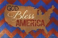 "God Bless America by Marla Rae - 18"" x 12"""