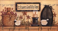 """It's Always Good to be Home by Mary Ann June - 30"""" x 16"""""""