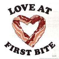 """Love at First Bite by Lauren Rader - 12"""" x 12"""""""