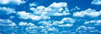 """Clouds Marion County IL by Panoramic Images - 27"""" x 9"""""""