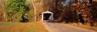Melcher Covered Bridge Parke Co IN USA Fine Art Print