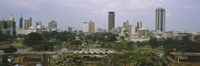 Skyline View of Nairobi Kenya