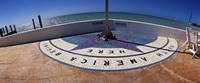 """North America Begins Here, Key West, Monroe County, Florida, USA by Panoramic Images - 27"""" x 9"""""""