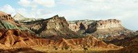 """Rock Formations, Capitol Reef National Park, Utah by Panoramic Images - 27"""" x 9"""", FulcrumGallery.com brand"""