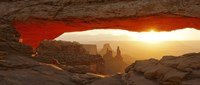 "Mesa Arch at sunset, Canyonlands National Park, Utah, USA by Panoramic Images - 27"" x 11"""