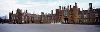 "Facade of a building, Hampton Court Palace, London, England by Panoramic Images - 36"" x 12"", FulcrumGallery.com brand"