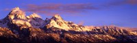 "Teton Range Mountains, Grand Teton National Park, Wyoming by Panoramic Images - 36"" x 12"""