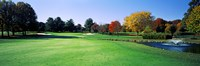 Golf course, Westwood Country Club, Vienna, Fairfax County, Virginia, USA Fine Art Print