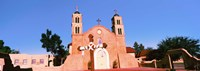 """Church in a city, San Miguel Mission, Socorro, New Mexico, USA by Panoramic Images - 36"""" x 12"""""""