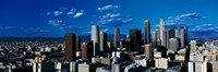 """Skyline from TransAmerica Center Los Angeles CA USA by Panoramic Images - 27"""" x 9"""""""