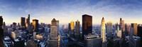 USA Illinois Chicago Sunrise