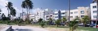 "Ocean Drive, South Beach, Miami Beach, Florida, USA by Panoramic Images - 27"" x 9"""