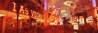 View of Fremont Street Las Vegas NV USA Fine Art Print