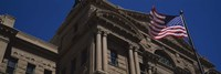 """Low angle view of a courthouse, Fort Worth, Texas, USA by Panoramic Images - 27"""" x 9"""""""