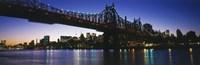 USA, New York City, 59th Street Bridge Fine Art Print