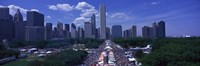 "Taste of Chicago Chicago IL by Panoramic Images - 27"" x 9"""