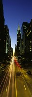 """Lexington Avenue, Cityscape, NYC, New York City, New York State, USA by Panoramic Images - 9"""" x 27"""""""