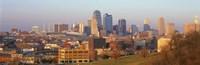 "Kansas City MO by Panoramic Images - 27"" x 9"""