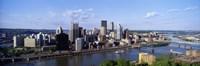 "Monongahela River, Pittsburgh, Pennsylvania, USA by Panoramic Images - 27"" x 9"", FulcrumGallery.com brand"