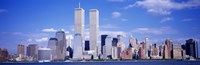 USA, New York City, with World Trade Center Fine Art Print