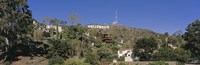 """USA, California, Los Angeles, Hollywood Sign at Hollywood Hills by Panoramic Images - 27"""" x 9"""" - $28.99"""