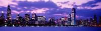 Sunset Chicago IL USA