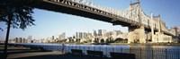"Queensboro Bridge Over East River, Manhattan by Panoramic Images - 27"" x 9"""