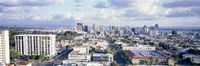 """Clouds Over San Diego by Panoramic Images - 27"""" x 9"""", FulcrumGallery.com brand"""