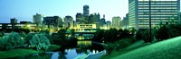 "Omaha NE by Panoramic Images - 27"" x 9"""