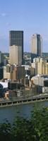 "Monongahela River Skyline, Pittsburgh, Pennsylvania by Panoramic Images - 9"" x 27"", FulcrumGallery.com brand"