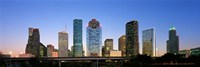 "USA, Texas, Houston by Panoramic Images - 27"" x 9"" - $28.99"