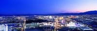 """Las Vegas Strip, Nevada, USA by Panoramic Images - 27"""" x 9"""""""