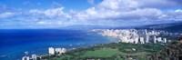 Blue Waters of Waikiki Hawaii